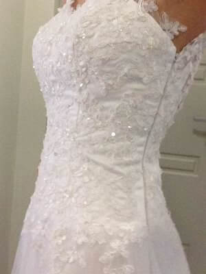 Size 8 dress | Second hand wedding dresses Beeliar - 2