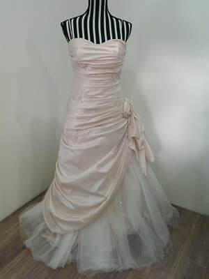 Mancini – Size 14 Silk dress | Second hand wedding dresses Pascoe Vale - Size 14