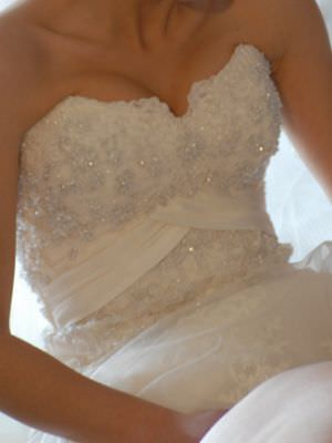 Maggie Sottero – Size 6  dress | Second hand wedding dresses Pascoe Vale South - Size 6