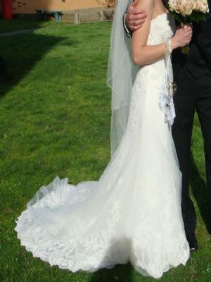 Maggie Sottero – Size 6  dress | Second hand wedding dresses Pascoe Vale South - 2
