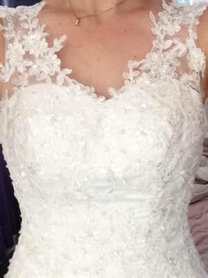 Size 8 dress | Second hand wedding dresses Beeliar - Size 8