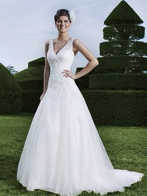 Sincerity Bridal – Size 16 Tulle dress | Second hand wedding dresses Scarborough - Size 16