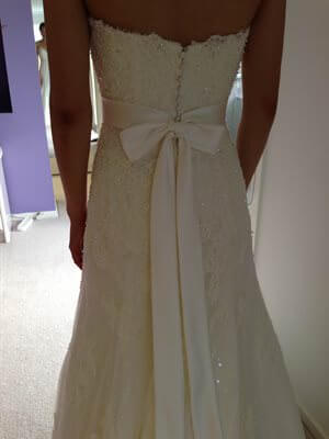 Demetrios – Size 8  dress | Second hand wedding dresses Southbank - 2