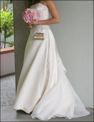 Size 8 dress | Second hand wedding dresses Beverly Hills - 2