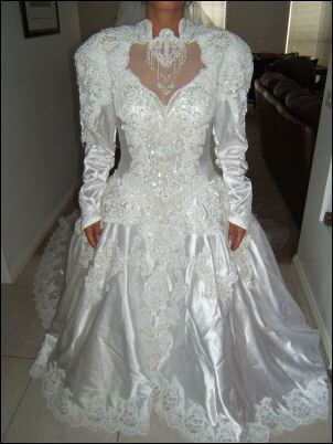 Size 12 dress | Second hand wedding dresses Rowville - Size 12