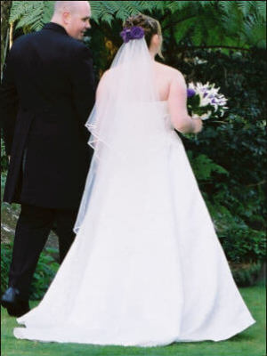 Size 16 dress | Second hand wedding dresses Padstow - 2