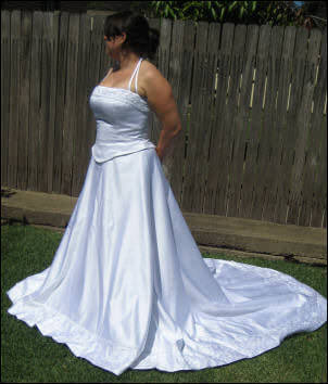 Size 12 dress | Second hand wedding dresses Georges Hall - Size 12