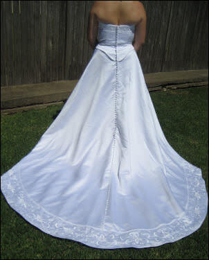 Size 12 dress | Second hand wedding dresses Georges Hall - 2
