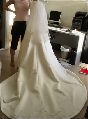 Size 10 dress | Second hand wedding dresses Bruce - 2