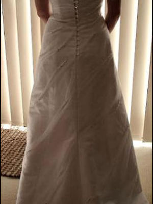 Size 10 dress | Second hand wedding dresses Coogee - 2