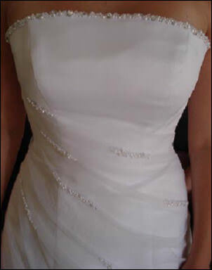 Size 10 dress | Second hand wedding dresses Coogee - Size 10
