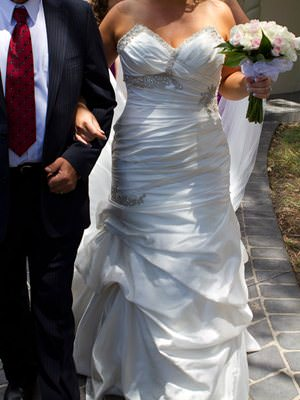 Pronovias – Size 12  dress | Second hand wedding dresses Earlwood - Size 12