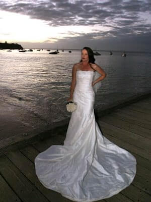 Pronovias – Size 10  dress | Second hand wedding dresses Frankston South - Size 10