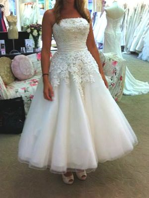 Justin Alexander – Size 8  dress | Second hand wedding dresses Latham - Size 8