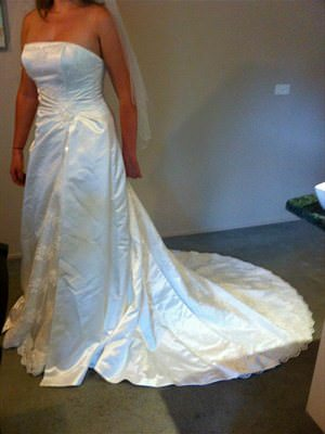 Size 12 dress | Second hand wedding dresses Warranwood - Size 12