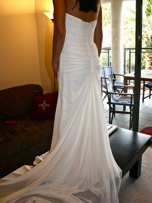 San Patrick – Size 10  dress | Second hand wedding dresses North Sydney - 2
