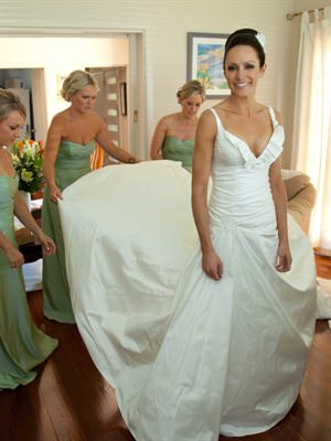 Pallas Couture – Size 8  dress | Second hand wedding dresses Caringbah South - Size 8