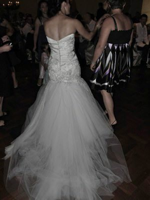 Size 10 dress | Second hand wedding dresses Ascot Vale - 2