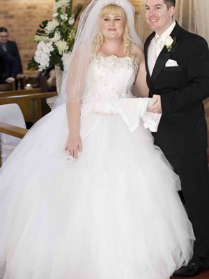Ronald Joyce – Size 14  dress | Second hand wedding dresses Kirwan - Size 14