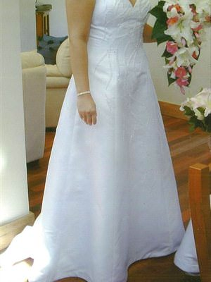 Corston Couture – Size 12  dress | Second hand wedding dresses Oyster Bay - Size 12