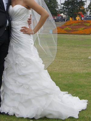 Essense of Australia – Size 8  dress | Second hand wedding dresses Glen Iris - Size 8