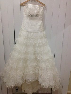 Aire Barcelona – Size 12  dress | Second hand wedding dresses Morningside - Size 12