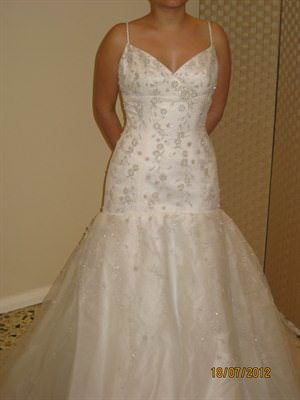 Size 8 dress | Second hand wedding dresses Keilor East - Size 8