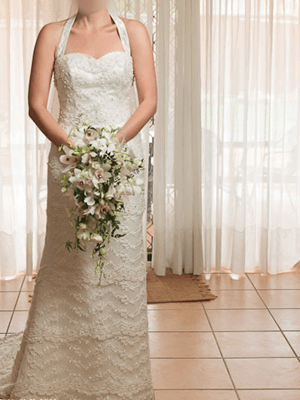 Size 10 dress | Second hand wedding dresses Wattle Grove - Size 10
