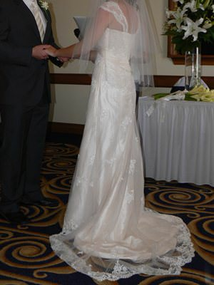 Raffaele Ciuca – Size 10  dress | Second hand wedding dresses Cheltenham - Size 10