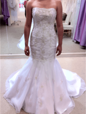 Barbra Calabro – Size 10  dress | Second hand wedding dresses Medowie - Size 10