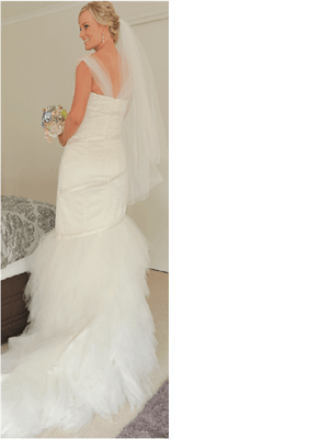 Vintage Wedding Dress Company – Size 10  dress | Second hand wedding dresses Mount Crosby - 2