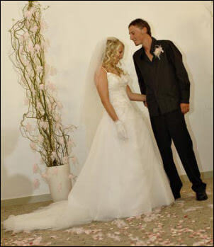 Size 8 dress | Second hand wedding dresses Busselton - Size 8
