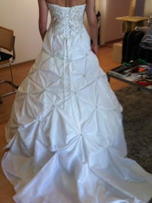 Size 10 dress | Second hand wedding dresses Ashby - 2