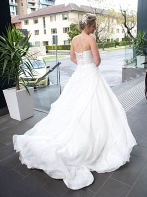 Ella Bridal – Size 10  dress | Second hand wedding dresses South Yarra - 2