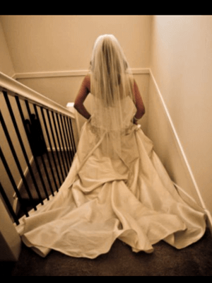 Airs & Graces – Size 8  dress | Second hand wedding dresses Chermside West - 2