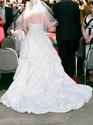 Size 12 dress | Second hand wedding dresses Isaacs - 2