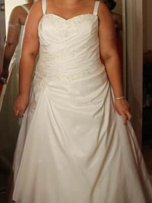 Size 20 dress | Second hand wedding dresses Springvale - Size 20