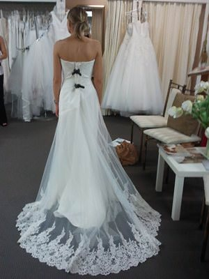 Peter Trends – Size 8  dress | Second hand wedding dresses Northbridge - 2