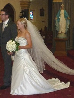 Size 10 dress | Second hand wedding dresses Traralgon - Size 10