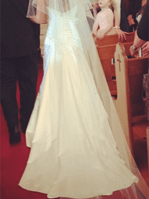 Connie Simonetti – Size 10  dress | Second hand wedding dresses St Kilda West - 2