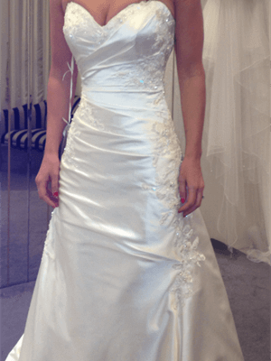 Connie Simonetti – Size 10  dress | Second hand wedding dresses St Kilda West - Size 10