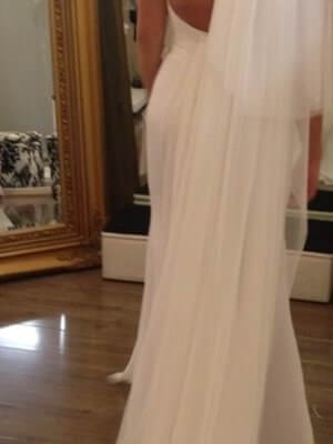 Mermaid Bridal – Size 6  dress | Second hand wedding dresses Craigieburn - 2