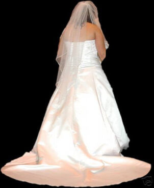 Raylia Designs – Size 20 Satin dress | Second hand wedding dresses Tamworth - 2