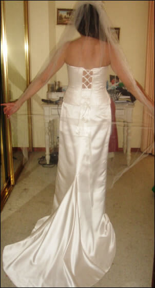 Size 14 dress | Second hand wedding dresses Monterey - Size 14