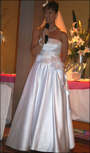 Size 10 dress | Second hand wedding dresses Clayton - Size 10