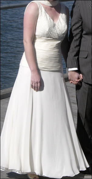 Size 10 dress | Second hand wedding dresses Fitzroy - Size 10