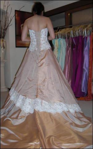 Maggie Sottero – Size 10  dress | Second hand wedding dresses Melton West - 2
