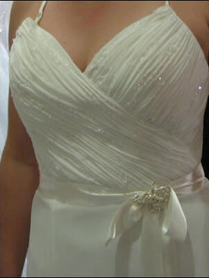 Size 12 dress | Second hand wedding dresses Enoggera - 2