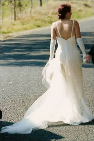 Size 10 dress   Second hand wedding dresses Figtree - 2