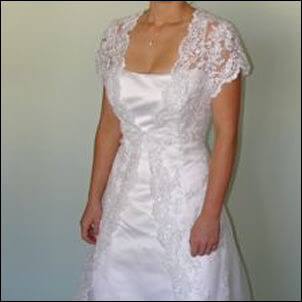 Alfred Angelo – Size 14 Lace dress   Second hand wedding dresses Sydney - 2